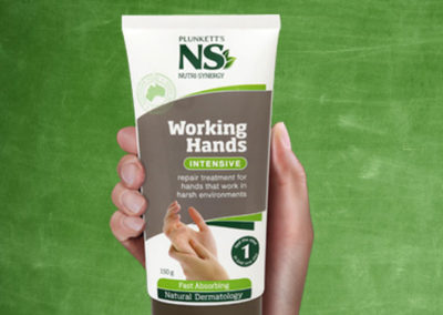 Working Hands – new product launch